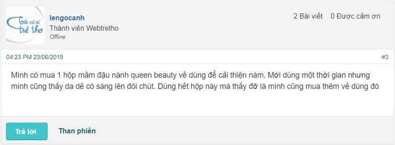 mầm đậu nành queen beauty có tốt không, mầm đậu nành queen beauty, mầm đậu nành nguyên xơ queen beauty, công dụng của mầm đậu nành queen beauty