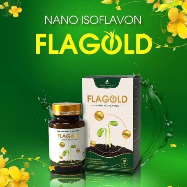 SALE OFF 20% sản phẩm mầm đậu nành Nano Flagold