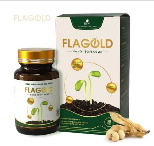 Viên mầm đậu nành Flagold