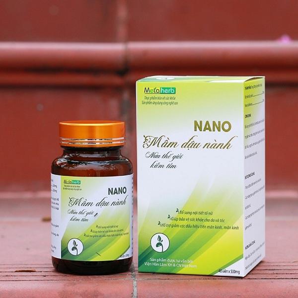Nano mầm đậu nành Metaherb có tốt không? Review chi tiết