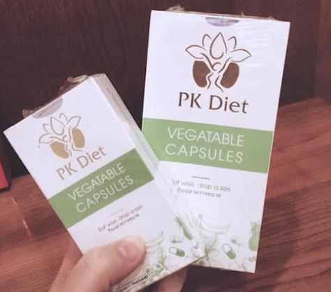 Review thuốc giảm cân PK Diet có tốt không