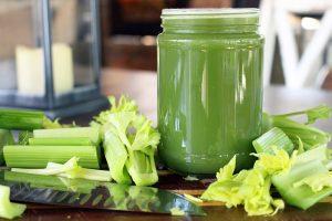 Uống nước ép cần tây có giảm cân không