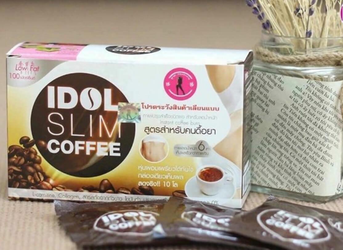 Review cà phê giảm cân Idol Slim có tốt không? Giá bao nhiêu?